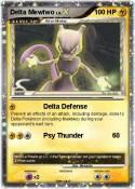 Delta Mewtwo