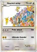 Pikachu's army