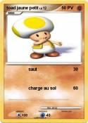 toad jaune