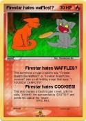 Firestar hates