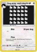 Dog army each