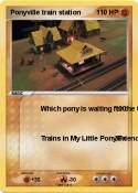 Ponyville train