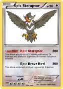 Epic Staraptor
