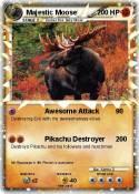 Majestic Moose
