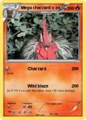 Mega charzard x