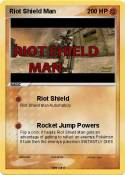 Riot Shield Man