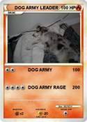 DOG ARMY LEADER
