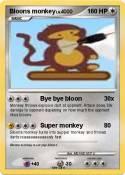 Bloons monkey