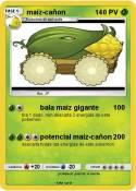 maíz-cañon