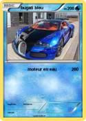 bugati bleu