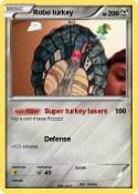Robo turkey