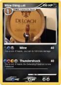 Wine thing