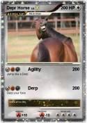 Depr Horse
