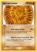tarte aux pomme