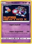 super Mewtwo X