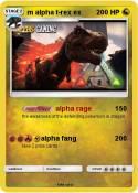 m alpha t-rex