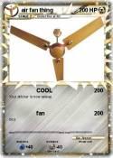 air fan thing