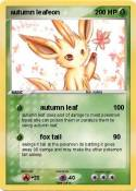 autumn leafeon