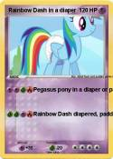 Rainbow Dash in