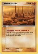 usine de droide
