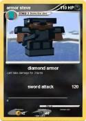 armor steve