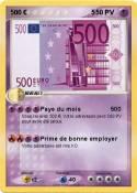 500 € 5