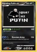 Squating Putin