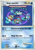Ninja squirtles