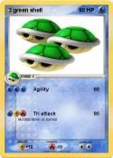 3 green shell