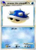 carapase bleu