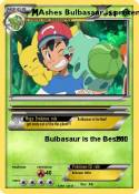 Ashes Bulbasaur