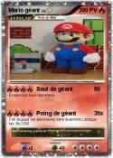 Mario géant