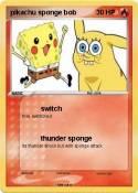 pikachu sponge