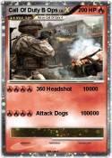 Call Of Duty B