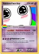 Rainbow Face