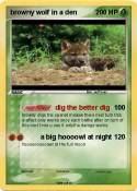 browny wolf in