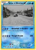 Snow in Mosinee