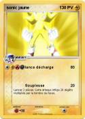 sonic jaune