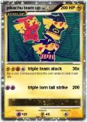 pikachu team up