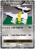 Lego Arceus