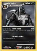 chevalier noire