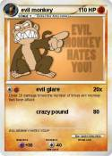 evil monkey