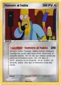 Homero al habla