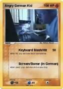Angry German