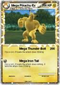 Mega Pikachu Ex