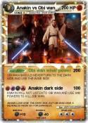 Anakin vs Obi