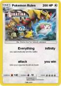 Pokemon Rules