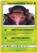 ninja monkey as