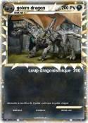 golem dragon