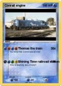 Conrail engine